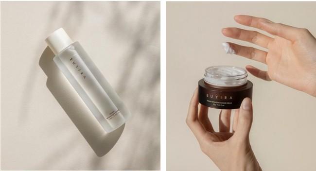 韓国発・敏感肌用コスメティックブランド「ユイラ」より「塗るヴィーガンレシピ」第二弾が登場。ベータグルカン配合の高保湿な化粧水とクリームが10/29新発売